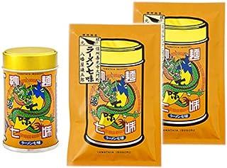 八幡屋礒五郎 拉麺七味 1缶2袋セット