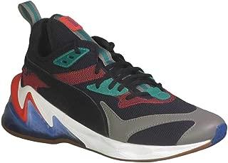 PUMA Men's LQDCell Origin Cross Training Shoes Black/Cadmium Green