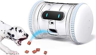 VARRAM Pet Fitness Robot: Dispenser interattivo e robot compagno per cani e gatti, programma di gioco automatico, monitora...