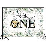 Fotografía de Fondo de Safari en el Bosque para niños 1er cumpleaños Fondo de Ducha de bebé Banner Estudio fotográfico A4 7x5ft / 2,1x1,5 m