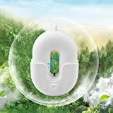IPO 空気清浄機 除菌率93.38% パーソナル ポータブル 空気清浄器 イオン発生器 ミニ 500万マイナスイオン 大人 妊婦 子供 卓上 車内 PM2.5 タバコ 花粉 静音 USB充電式 CE FCC RoHS認証 2色展開