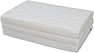 アイリスオーヤマ ハイグレード エアリーマットレス 厚さ9cm シングル 通気性 洗える 体圧分散 ホワイト HG90-S