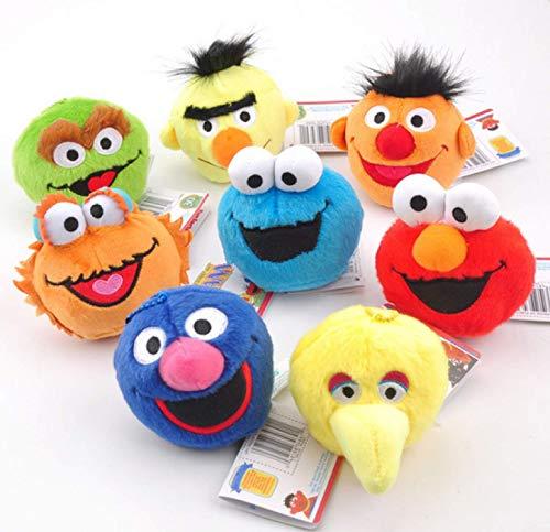 agzhu 8 Piezas 3,5 '9 cm Barrio Sésamo Elmo Cookie Grover...