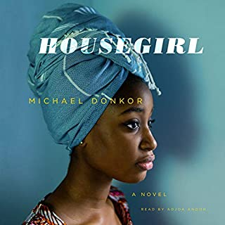 Housegirl audiobook cover art