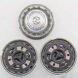 3pcs Replacement Shaver Head for HQ56 HQ55 HQ4+ HQ3 Reflex Plus HQ6843 HQ300 HQ64 HQ916 CloseCut Shaver Heads