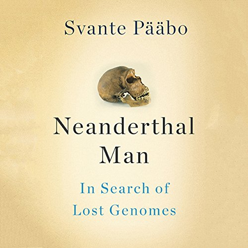 Neanderthal Man audiobook cover art