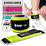 Best Ankle Weights - Fitness Adjustable Ankle Weight with Reflective Trim-Exercise Leg Review