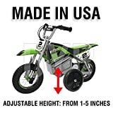 BYP_MFG_INC Adjustable Height Razor SX350 SX 350 Kids Youth Training Wheels ONLY