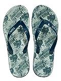 Riemot Chanclas para Mujer y Hombre, Flip Flop, Zapatillas para Playa, Piscina y Ducha, Zapatos Verano Ligero Cómodo Antideslizante Hombre Hoja 42 EU