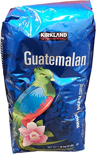 Kirkland Signature Guatemalan Whole Bean Medium Roast Coffee, 3 Lbs