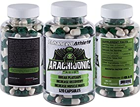 Enhanced Athlete Arachidonic Acid - Muscle and Strength Booster - Preserve Muscle and Boost Protein Synthesis - 350mg x 120 Capsules