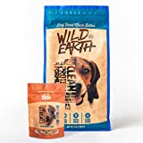 Wild Earth Healthy High-Protein Formula Dry Dog Food and Peanut Butter Clean Protein Dog Treats Bundle