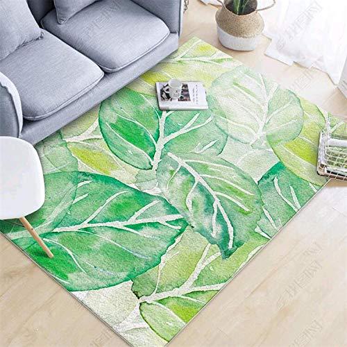 Tangyuan Modern vloerkleed voor de woonkamer, gemaakt van korte pool, creatief design, modieus, laat het tapijt fris, ademend, gemakkelijk te reinigen en te reinigen. 140x200cm