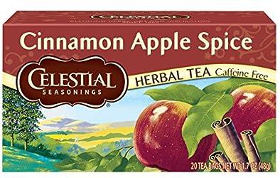 Celestial Seasonings, Tea, Cinnamon Apple Spice, 20 Count