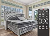 split king mattress set - Sven & Son Split King Adjustable Bed Base Frame Platinum (Individual Head Tilt & Lumbar) + 14