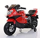 TAMCO Kids Motorcycle, Ride on Toys, Electric Kids Motorcycle with Foot Pedal ,Starter, Music & Lights ,Super Easy Driving for Kids 2-4 Years Old,Under $100 Small Kids Electric Bike (Red)