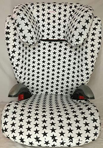 Moon-bebe funda para silla romer kid plus blanca(con estrella)