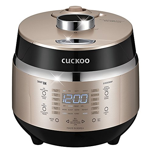 Cuckoo CRP-EHSS0309FG 3 Cup Induction Heating Pressure Rice Cooker
