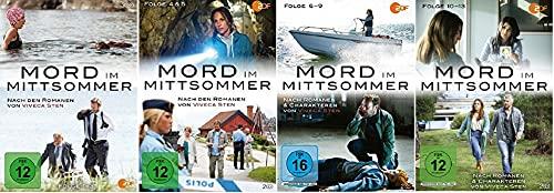 Mord im Mittsommer 1-13 / Folgen 1-13 / Box 1+2+3+4 [DVD Set]