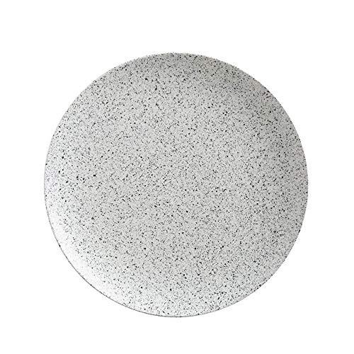 Maxwell & Williams Caviar Plateau rond en porcelaine Crème 40 cm