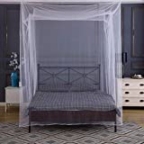 Tebery Ultra Large Mosquito Net with Carry Bag Screen Netting Bed Canopy Circular