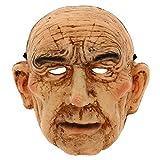 Rubies - Máscara de señor viejo, talla única (Rubies S3211)