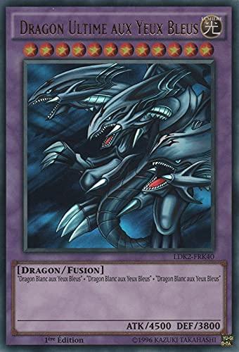 Carte Dragon Ultime aux Yeux Bleus : LDK2-FRK40