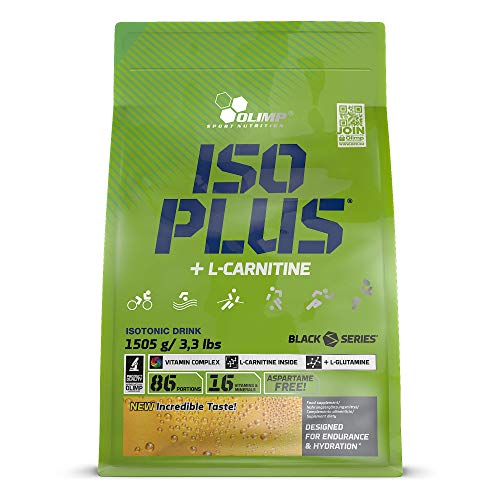 Olimp Iso Plus Powder Orange, 1er Pack (1 x 1.505 kg)