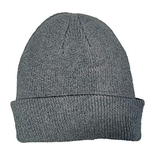 undercover lingerie Ladies Pro Climate Chenille Knit Beanie Hat LA368 Grey