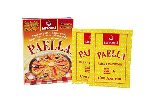 Paella seasoning sachets 15g