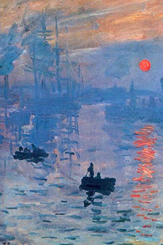 Impression, Sunrise by Claude Monet Journal