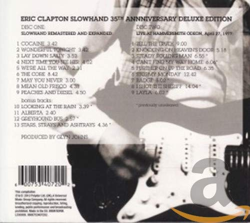 Slowhand [35th Anniversary Deluxe Edition]
