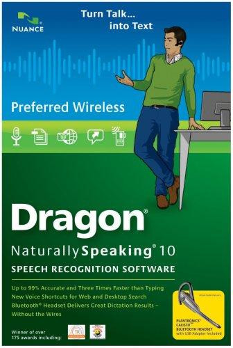 Dragon NaturallySpeaking Preferred Wireless 10.0 (PC DVD)