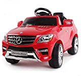*Soft-Start* Original Mercedes-Benz ML 4x4 4MATIC 350 SUV Lizenz Kinderauto Kinderfahrzeug (ROT)