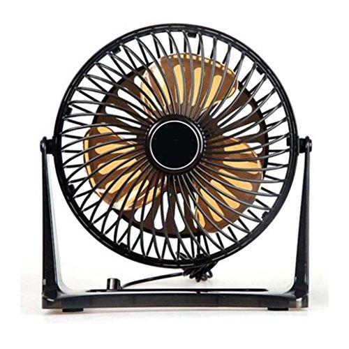 Miaoge Kunststoff Lüfter 360 Grad Umdrehung Silent Mini Mini-Ventilator PC Desktop Lüfter 200?L?×100?W?×210?H?mm