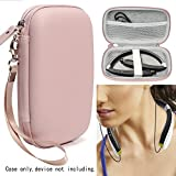 CaseSack Protective Case for Wireless Foldable Sports Neckband Bluetooth Headphones Like AMORNO, Orit, FKANT, GRDE, Dostyle and Others Bluetooth Headphones/Headset (Mate Rose Gold)