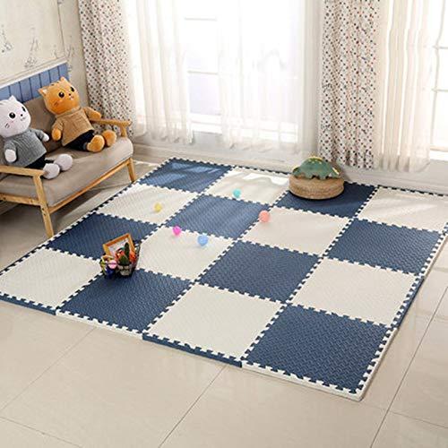 ALGWXQ Tapetes de Espuma de Enclavamiento para Bebés Impermeable Alta Tenacidad Playmat Usado para Jardín de Infancia, Sala, Oficina, 1,0 Cm / 2,5 Cm De Grosor, Variedad de Estilos