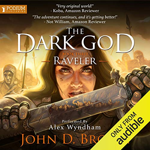 Raveler audiobook cover art