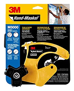3M Hand-Masker M3000 tool for masking film and paper, all tapes widths, 1 dispenser without blade (B0002YQ7HO) | Amazon price tracker / tracking, Amazon price history charts, Amazon price watches, Amazon price drop alerts
