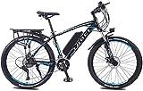 Nueva bicicleta de montaña eléctrica, E-bici bicicleta de montaña bicicleta eléctrica con el sistema de 27 velocidades de transmisión, 350W, 13Ah, 36V de litio-ion, 26' pulgadas, Pedelec City Bike Lig