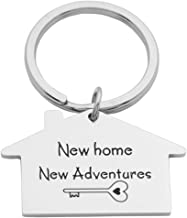 Kingmaruo Housewarming Gift New Home Owner Gift New House Keychain First Home Keyring Mother Effing Home Owner
