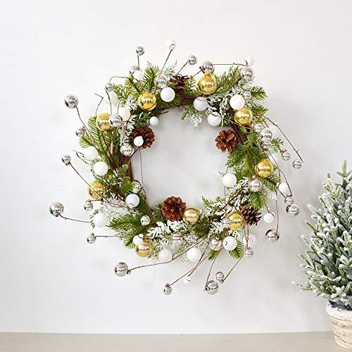 ZHANG HUA-tafellamp Z-H Kerstmis hangend ornamenten deur kroon Kerstmis decoratie rotan geschenk cirkel Canna