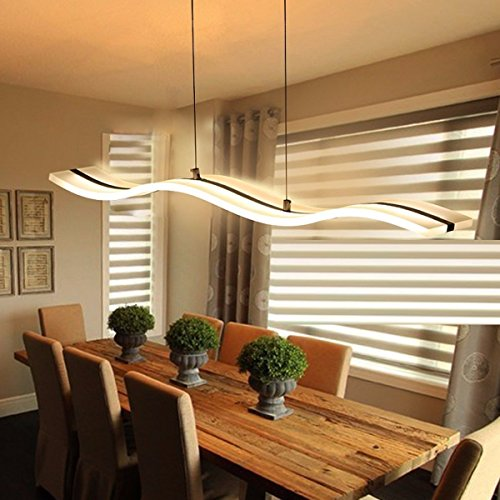 MS-61776 LED paneel 25W acryl zonder lijst van bijzondere en moderne plafondlamp hanglamp in transparante kleur chroom