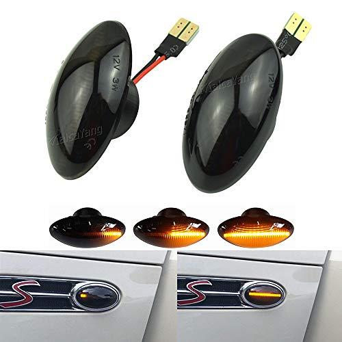 Dinamici LED indicatori di direzione luci laterali per MINI R50 R53 2000-2006, Cabrio R52 2002-2008