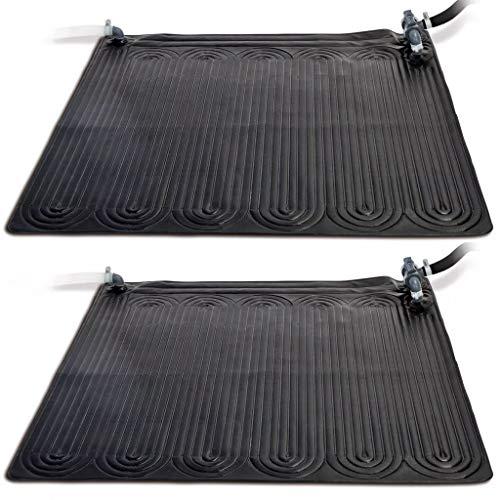 Intex 2X Solarmatte PVC 1,2x1,2m Pool Heizung Solarkollektor Solarheizung