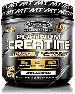 Muscletech Creatina Muscletech Platinum Creatine sin sabor - 400 gramos 80 servicios