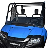 Clearly Tough Half Windshield for the Honda Pioneer 700 - Scratch Resistant- The Ultimate in Side by Side Versatility! Easy on and Off. Quickly Install or Remove. Premium Hard Coat. Made in America!