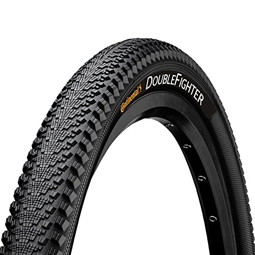Continental Double Fighter III Bicycle Tyre 29x2.00 Inch 50-622, Black
