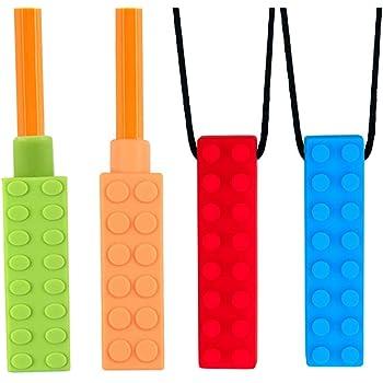 Healifty Silikon Spielzeug Bei/ßring Langlebiger Bequemer Bei/ßring Schnuller f/ür Kleinkinder 2St