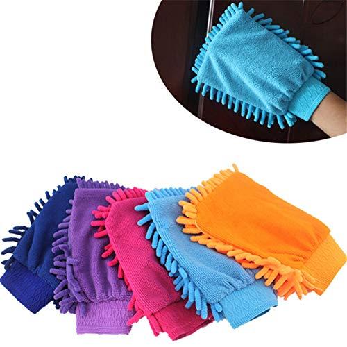 YAzNdom Car mop Car Wash Neil Microfiber Premium Scratch Handschoenen Geschikt voor auto en motorfiets glas thuis